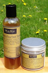 MeMe's Peppermint & Tea Tree Shampoo & Conditioner