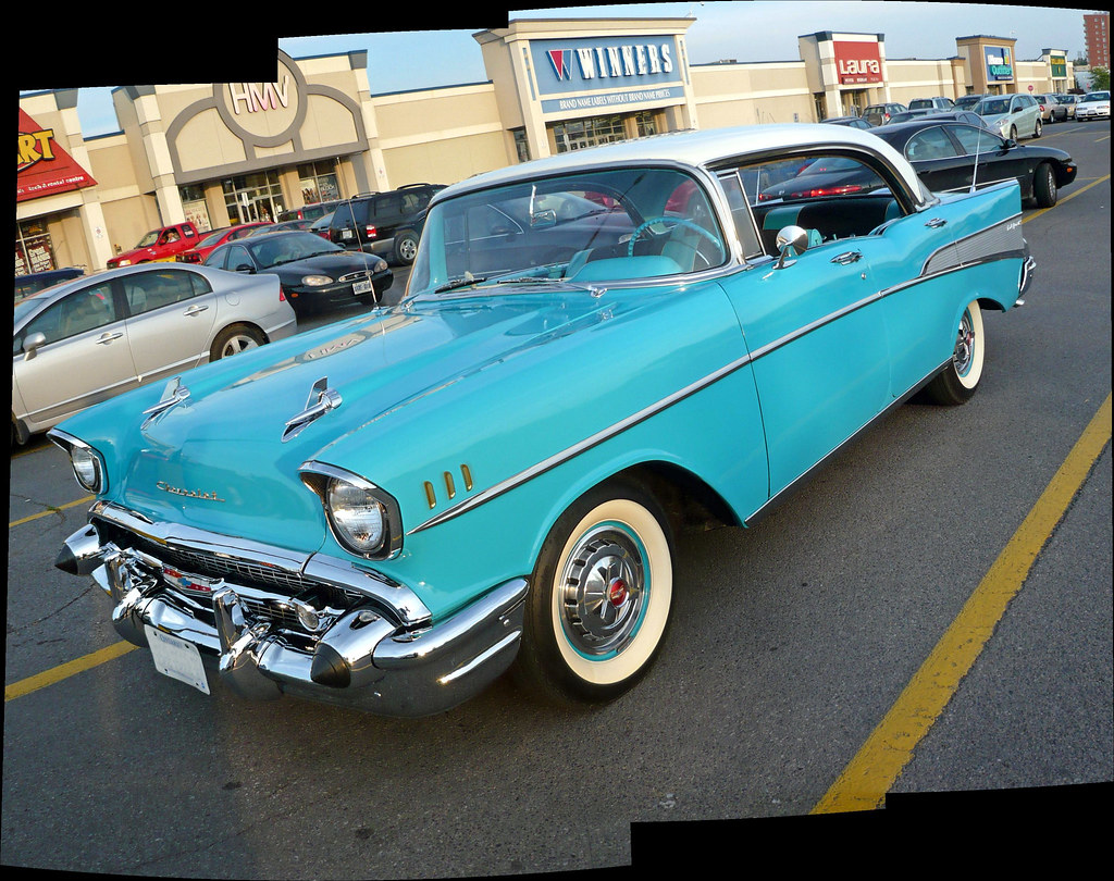 A 57 Chevy Bel Air 4 Door Sedan Autostitched Photo On Flickriver 1957