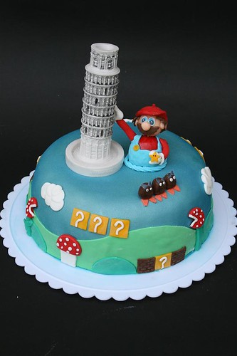 Mario Bros & The Leaning Tower