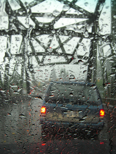 road bridge reflection wet rain raindrops van washingtonstate taillights kingcounty tukwila interestingness408 interestingness476 i500 betterthangood 42ndavebridge