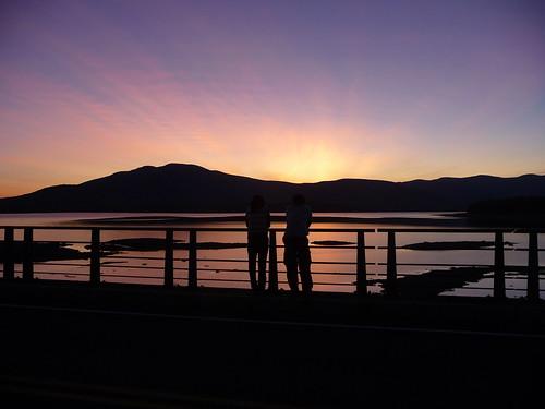 sunset silhouette couple deleteme10 scenic reservoir ashokan catskill aplusphoto platinumheartawards shubhrajit