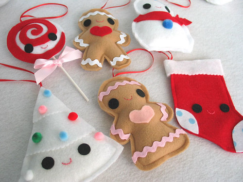 Softie Ornament Set