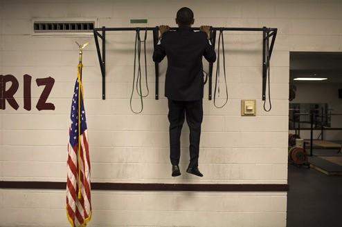 Obama pull ups