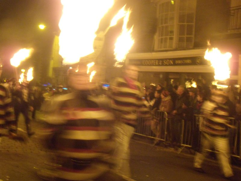I don't know either The camera was doing strange things tonight. Lewes circular via Rodmell. Bonfire night