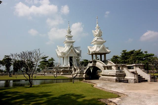 Wat Rong Khun, Tailandia.