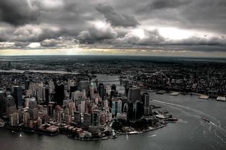 Cityscape--apocalypse