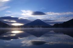 [フリー画像素材] 自然風景, 山, 河川・湖, 富士山, 風景 - 日本 ID:201203282000