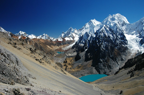The Cordillera Huayhuash Seen From San Antonio Pass