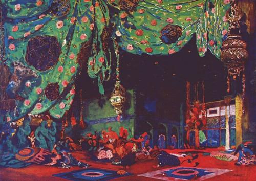 Schéhérazade - 1910 - décor
