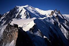 Aiguille du Midi and Mont Blanc