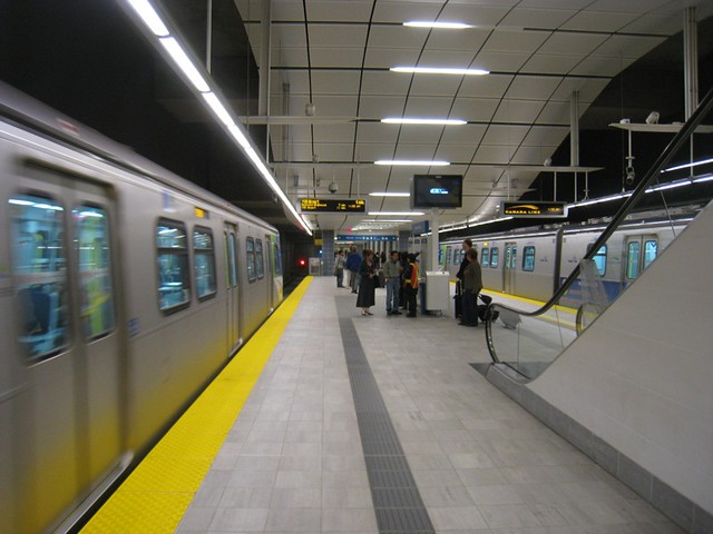 Canada Line Station