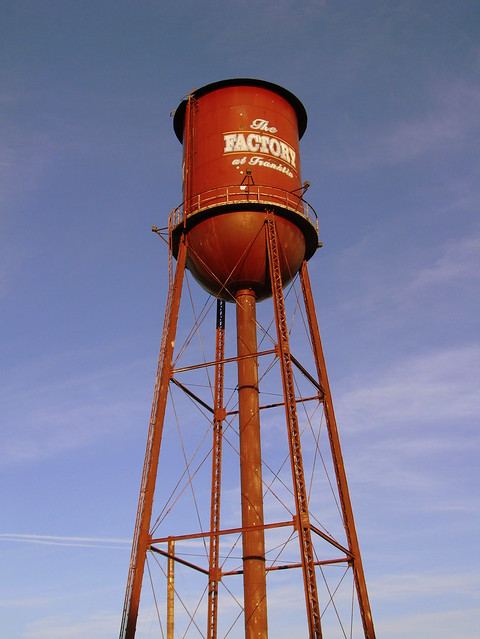 Old Water Tower - The Factory at Franklin