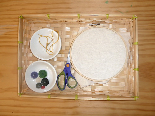 Sewing Tray (Photo from How We Montessori)
