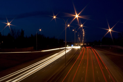 Crowchild at Night