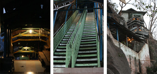 Stairs to the top of Popa