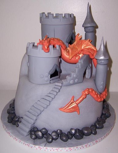 Castle+cake+for+boys