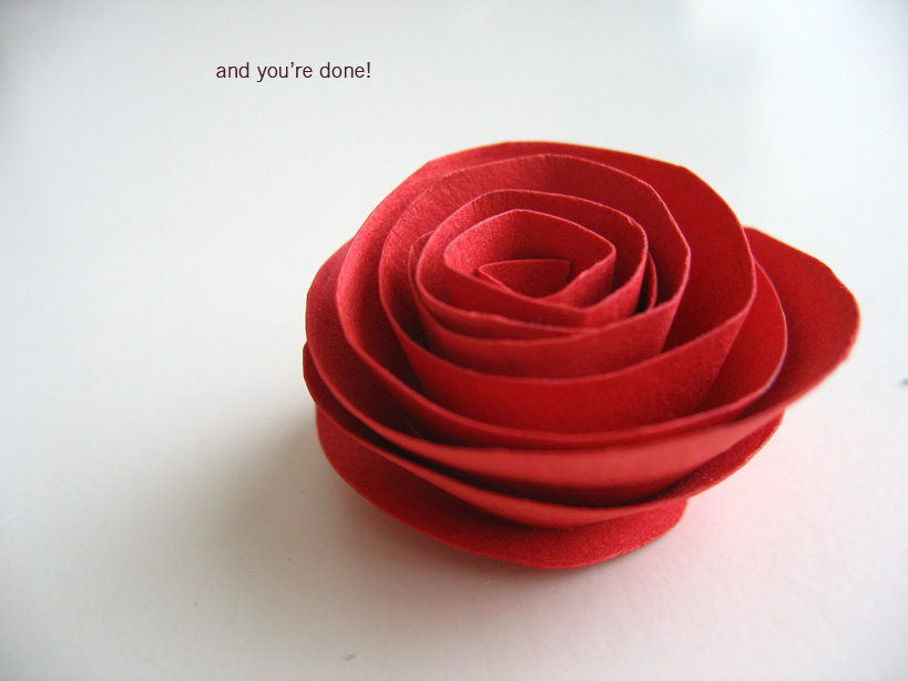 Make paper rose flower idealstalist make paper rose flower mightylinksfo