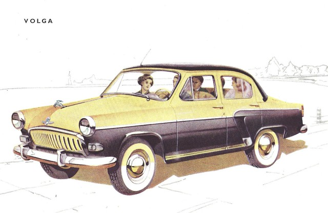 ford and volga english russia autos post