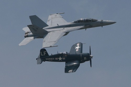 U.S. Navy Legacy Flight