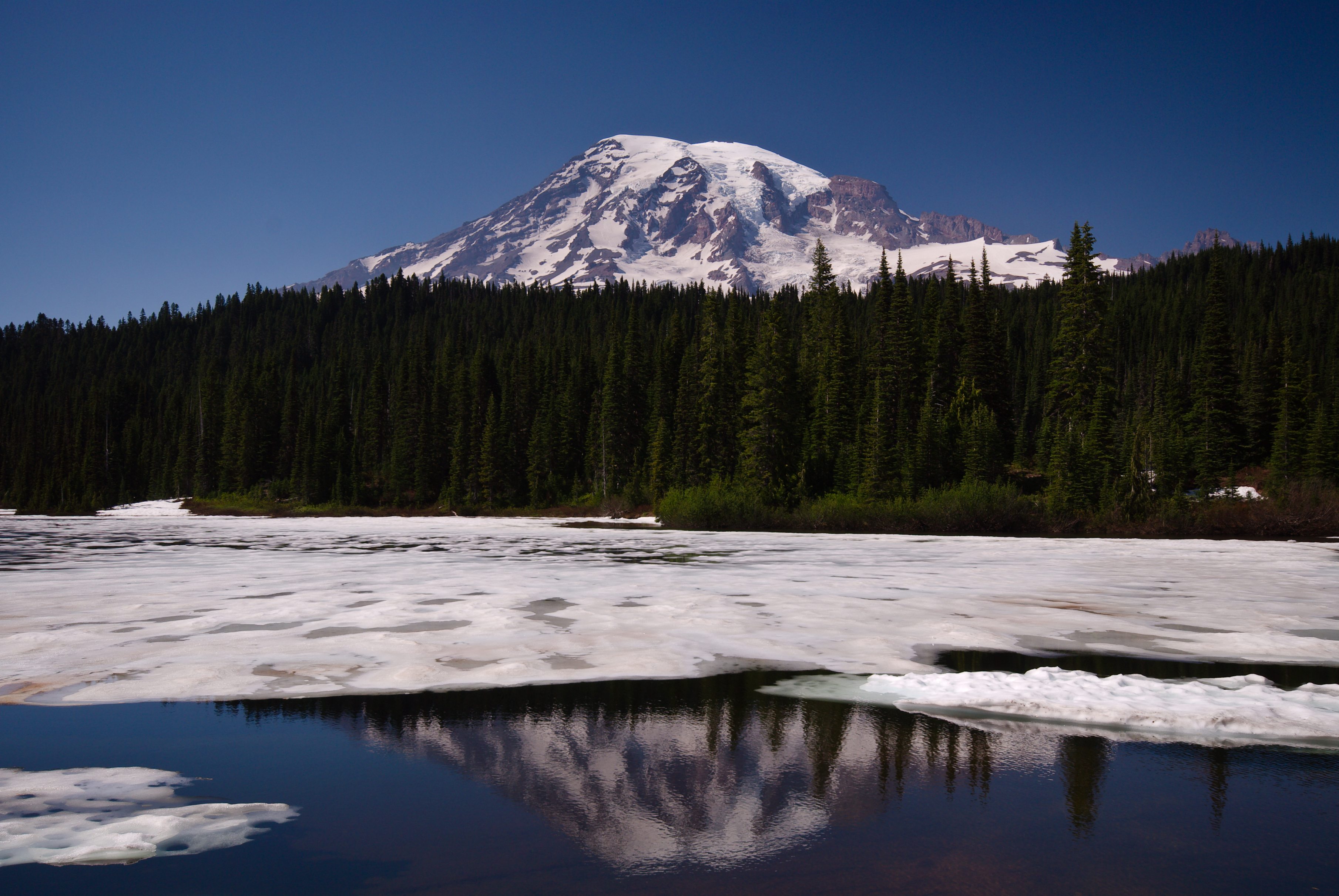 Reflection Lakes, Mount Rainier