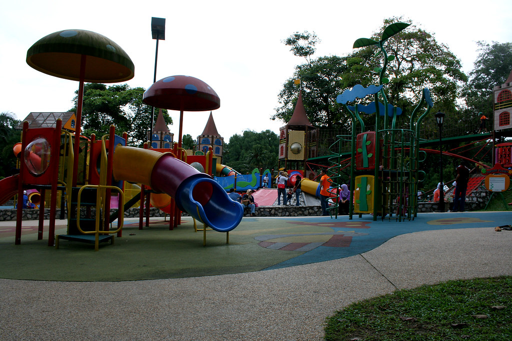 A children playground at Lake Garden