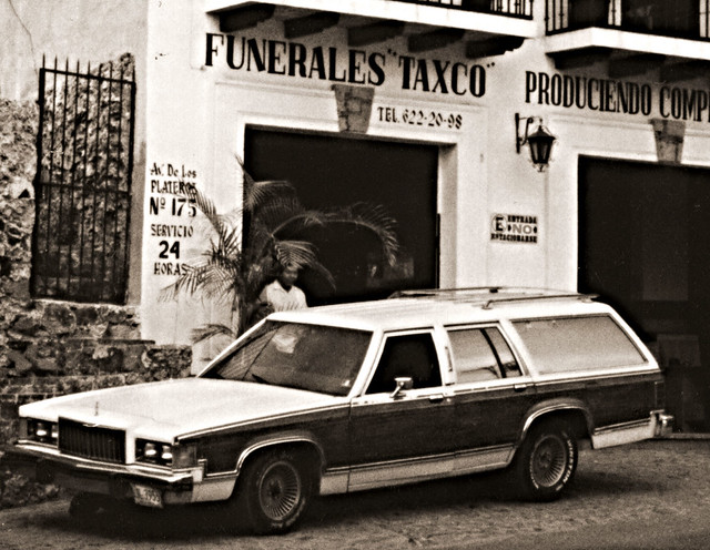 Funerales Taxco, Mexico