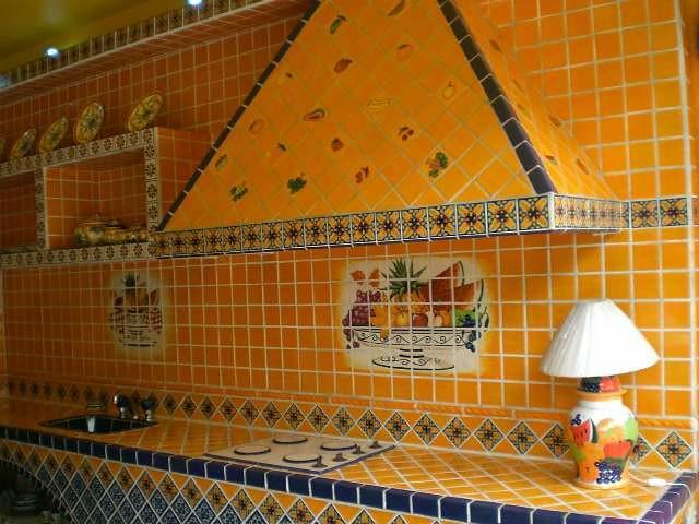 Mundo de azulejos cocina amarilla flickr photo sharing - Azulejos cocina ...
