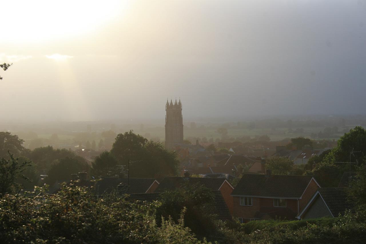 Glastonbury desde el Tor
