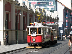 Historic Tramcar in Prague