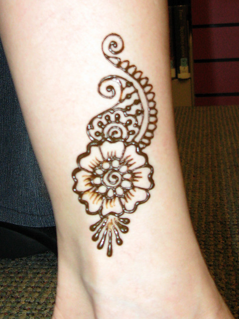 Mehndi Designs For Ankle : Party festival market henna inspirations on pinterest