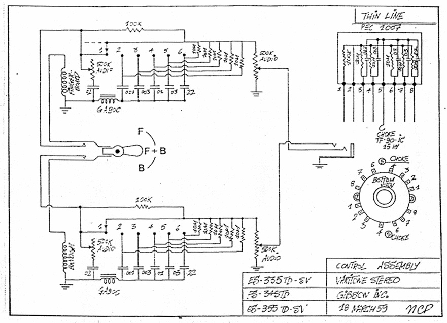 gibson lucille varitone stereo wiring diagram   45 wiring