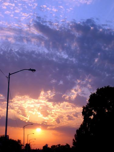 california ca sunrise fresno commute september172008