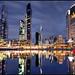 Southbank skyline 2 by Luke Tscharke