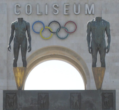 LA Olympic Coliseum by vlup2us65