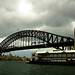 Small photo of Harbour bridge again and again