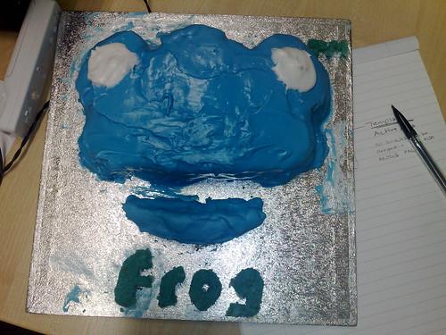 Frog Cake FTW!