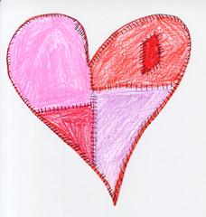 magenta, heart, pink,