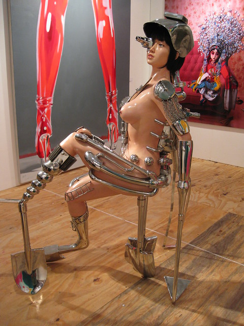 sex bot. Crazy asian sexy robot at scope.