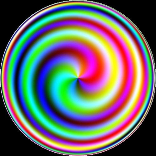 Coloued spiral