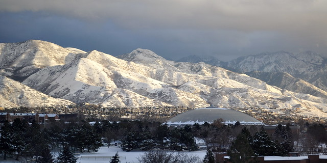 Wasatch Front by CC user cscheid on Flickr