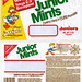 Nabisco - Junior Mints Juniors bag - Disney DuckTales Adventure Game contest - 1987