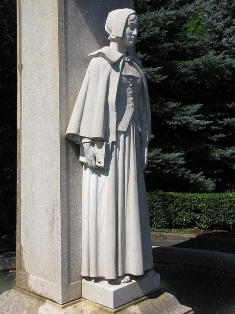 Pilgrim Mother Statue Flickr Photo Sharing