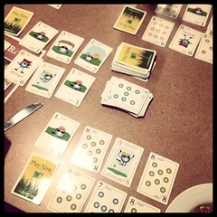 Still addicted to #playnine #cardgame