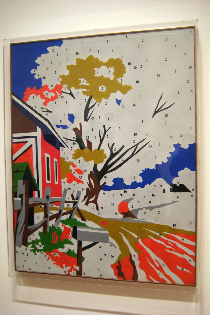 nyc moma andy warhol 39 s do it yourself landscape
