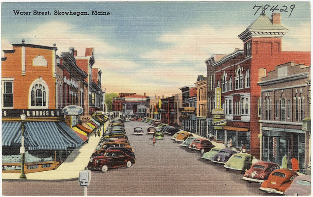 Header of Skowhegan