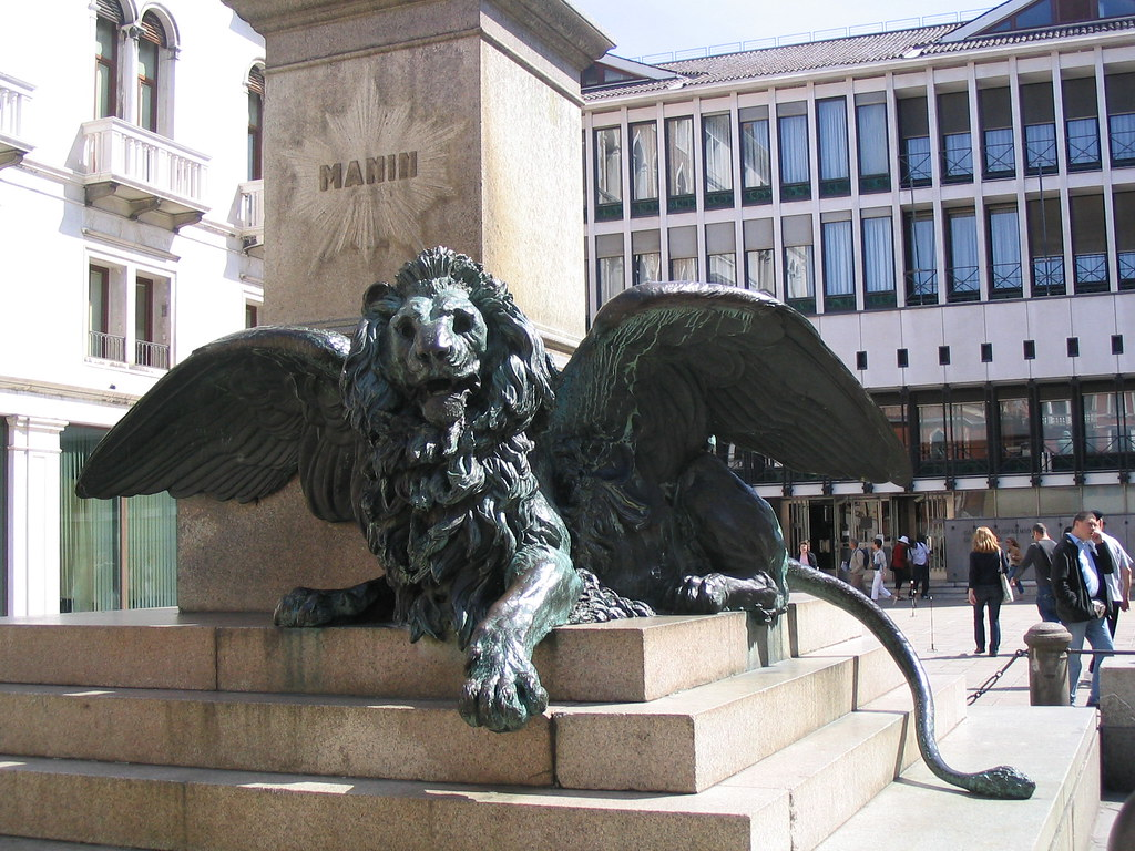 Winged Lion in Venice