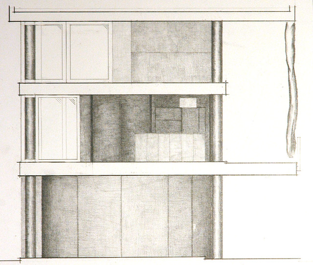 Curtain Wall Elevation : Curtain wall house south elevation flickr photo sharing
