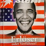 Barack Obama on a Magazine Cover - Berlin, Germany