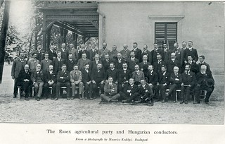 Essex Farmers visit Hungary 1902