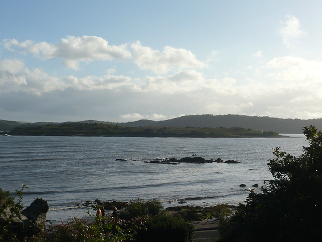 View of Rough Island from Colbiene